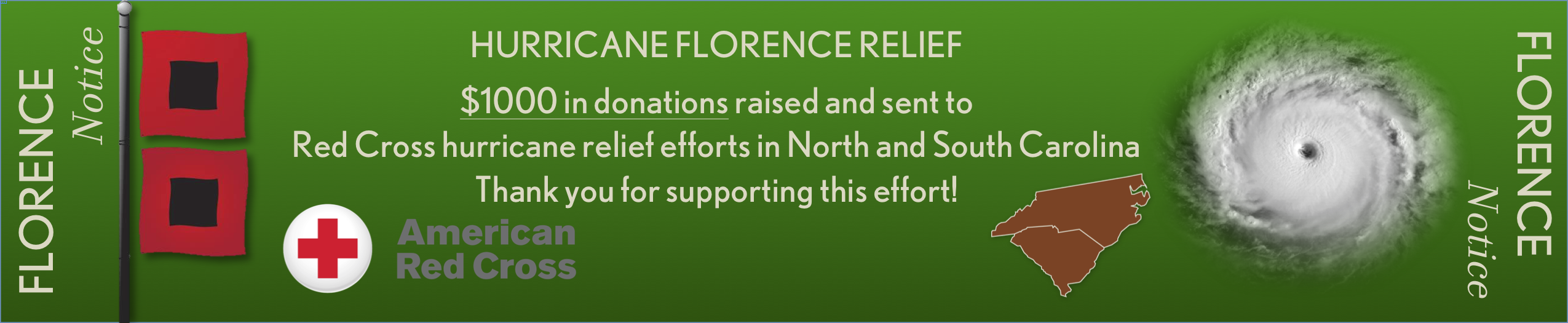 Florence Notice Update3 Thank You