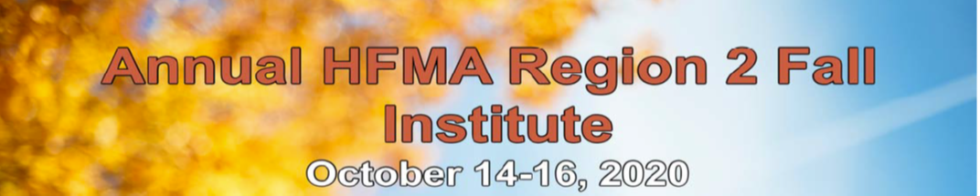 HFMA Region 2 Annual Institute 2020