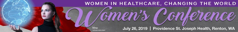 Washington-Alaska HFMA Women's Conference