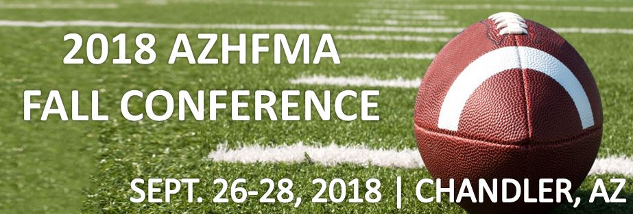 AzHFMA 2018 Fall Conference Attendee Registration