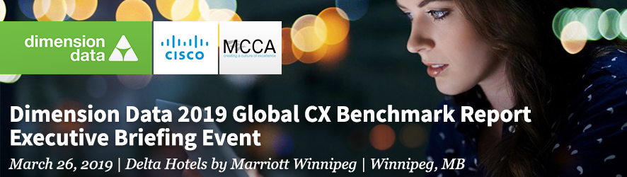 Dimension Data 2019 Global CX Benchmark Report Executive Briefing Event