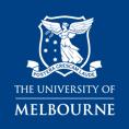 Melb Uni logo