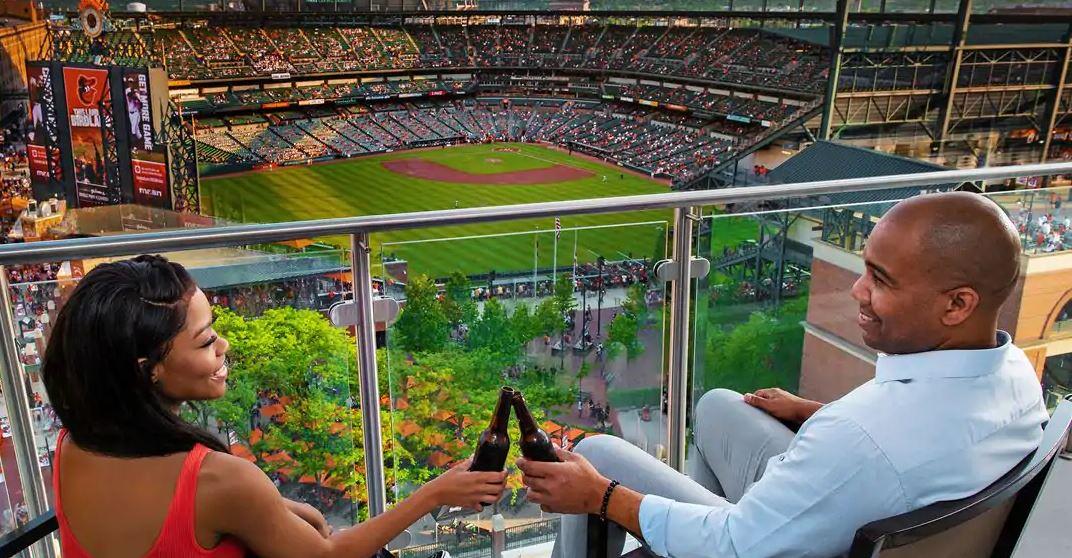 Baseball view
