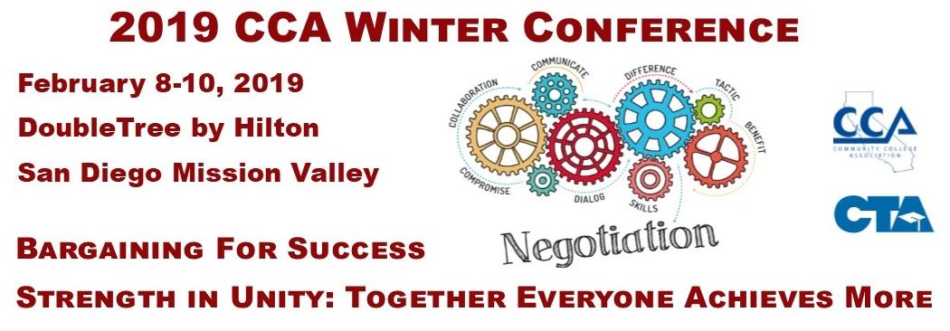 2019 CCA Winter Conference