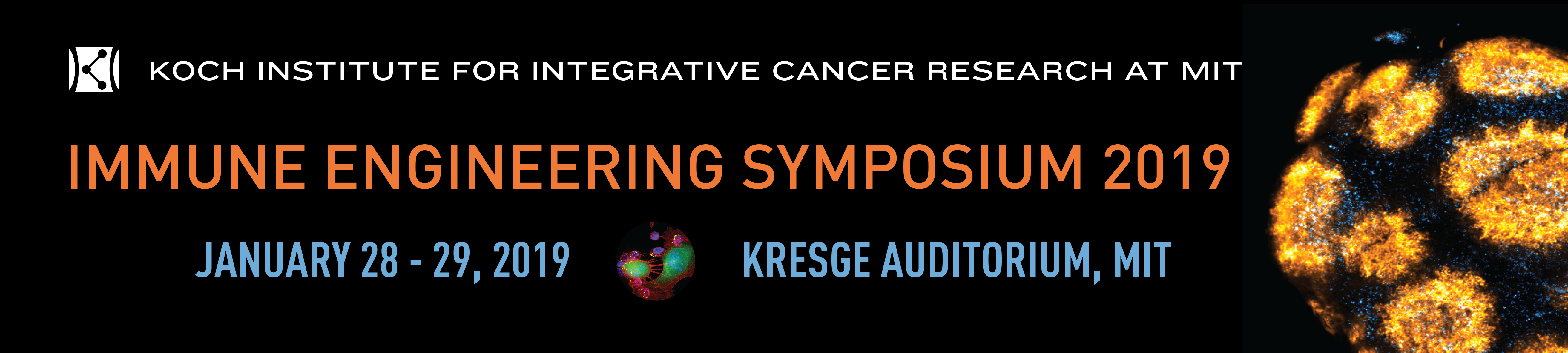Koch Institute 2019  Immune Engineering Symposium