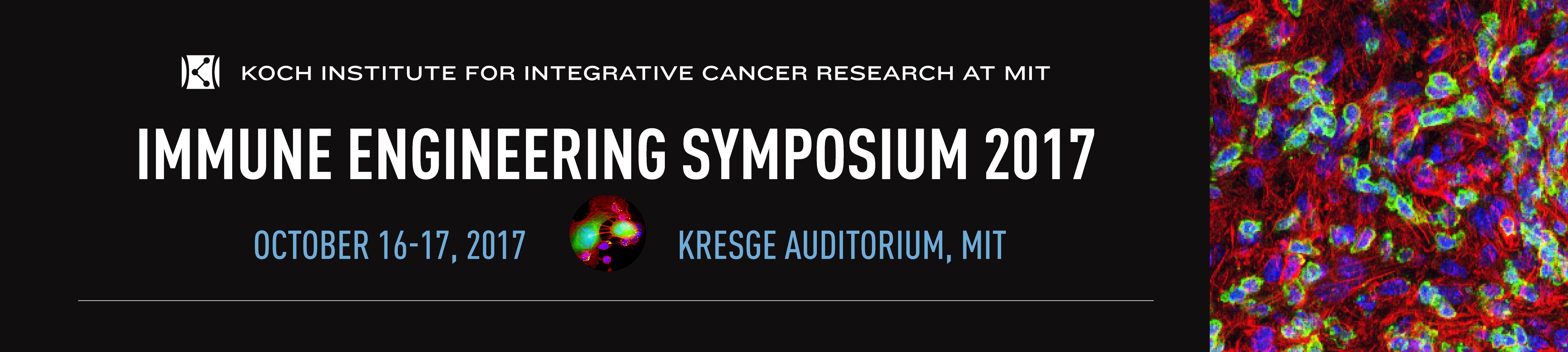 Koch Institute Immune Engineering Symposium 2017