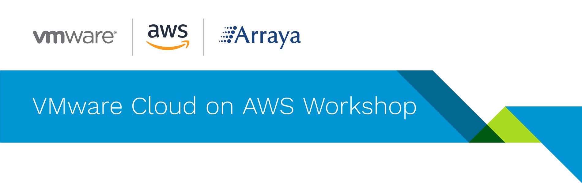 VMware Cloud on AWS - Arraya Solutions