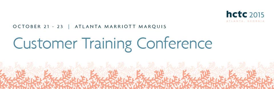 2015 Harris Customer Training Conference