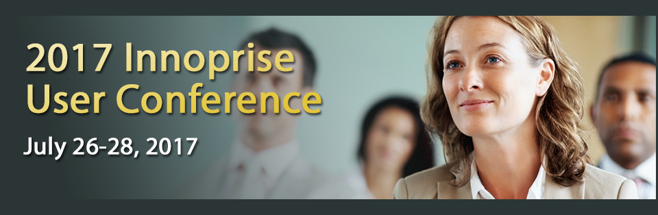 2017 Innoprise User Conference