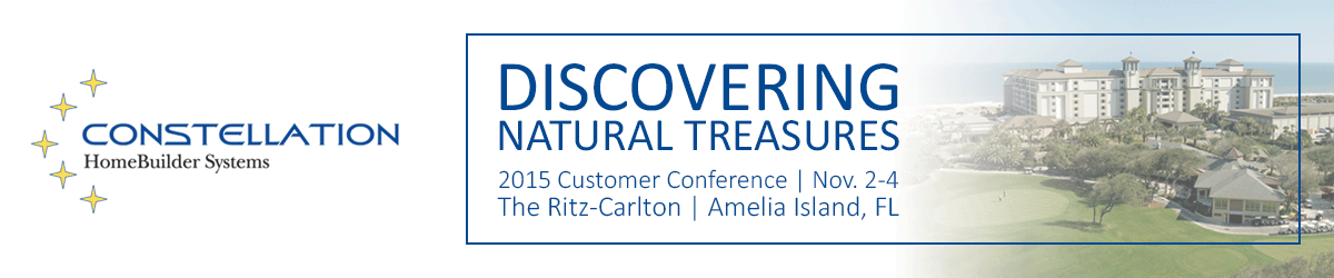 2015 Customer Conference: Natural Treasures
