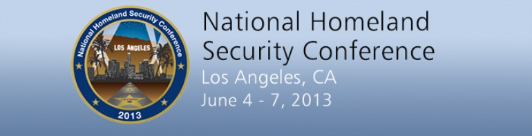 National Homeland Security Conference 2013