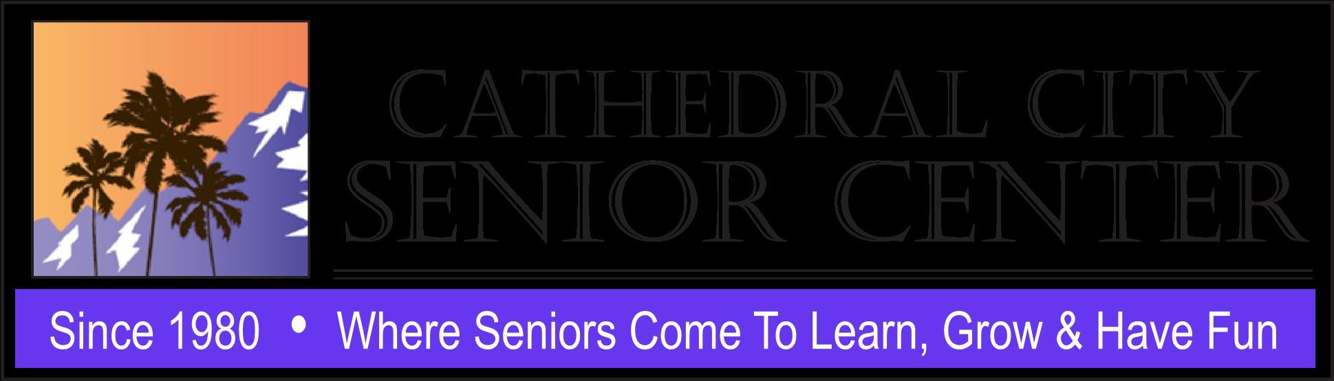 Cathedral City Senior Center logo 2017