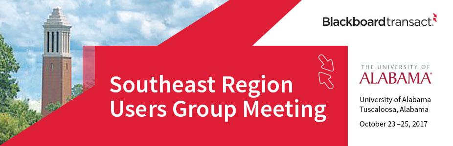 Blackboard Transact Southeast Region Users' Group Conference 2017