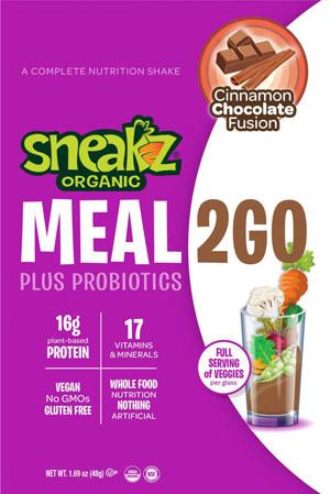 Sneakz Meal2Go-sampling station