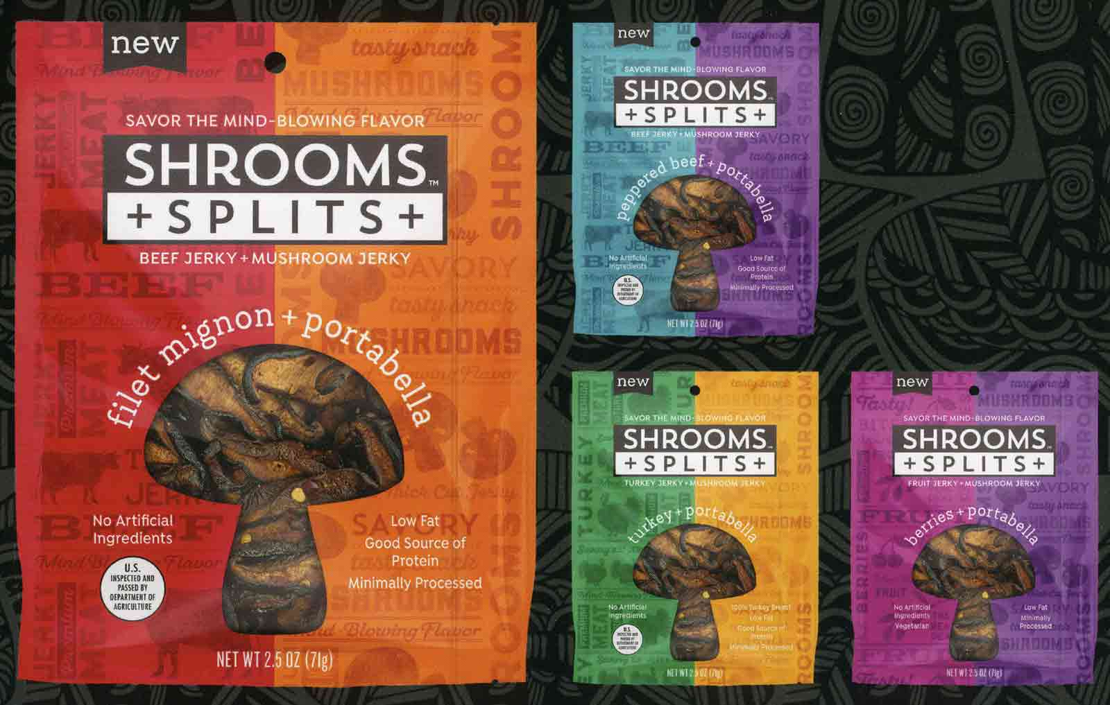 SHROOMS SPLITS 2020 PROTEIN PRODUCT