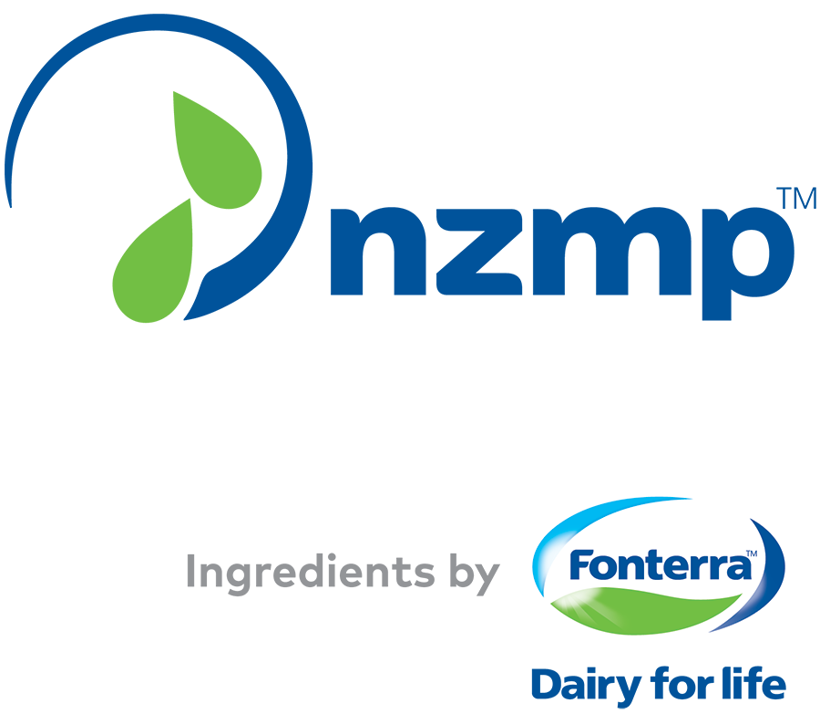 NZMP and Ingredients By Fonterra logo for the 2019 Protein Trends & Technolgies Seminar