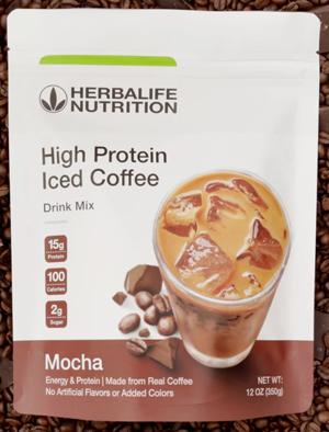Herbalife Protein Coffee-sampling station