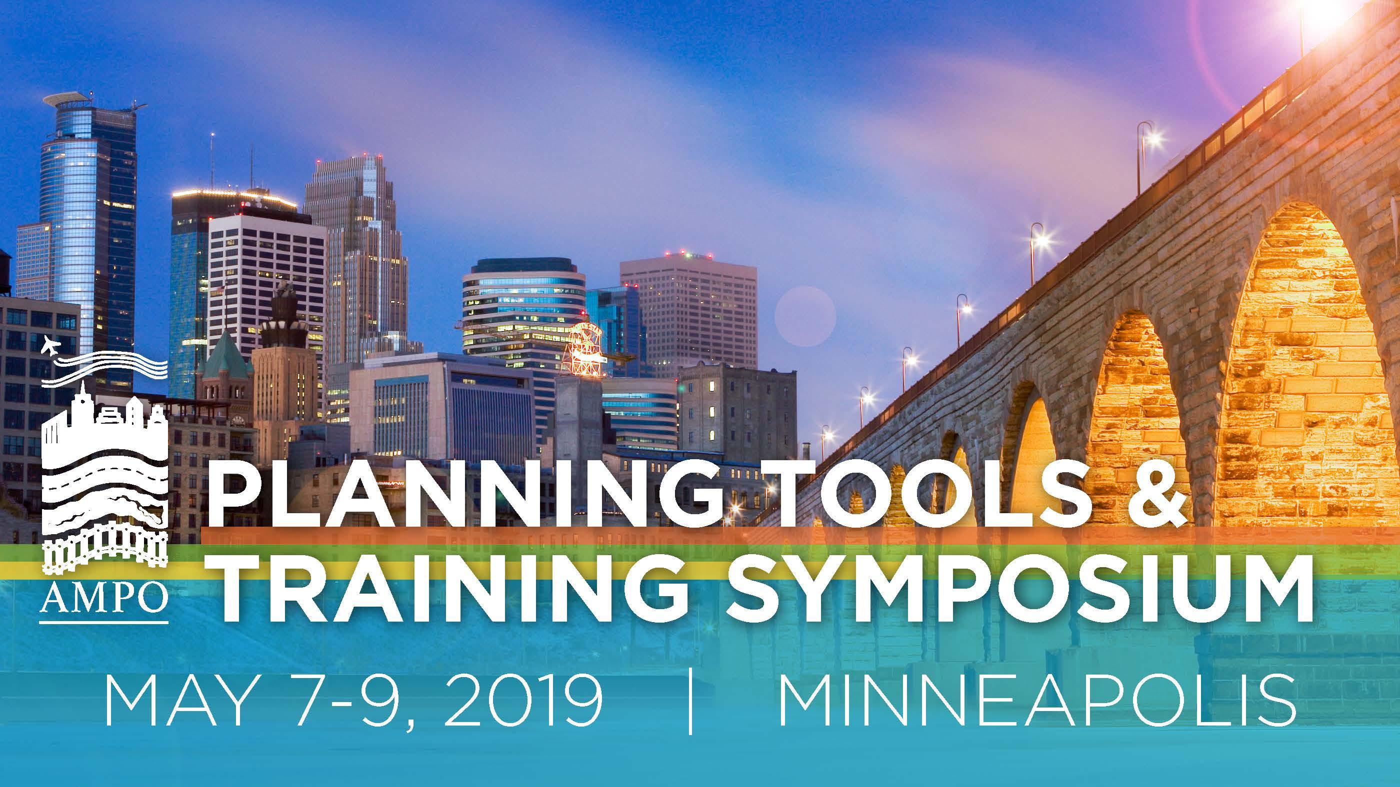 2019 AMPO Planning Tools & Training Symposium