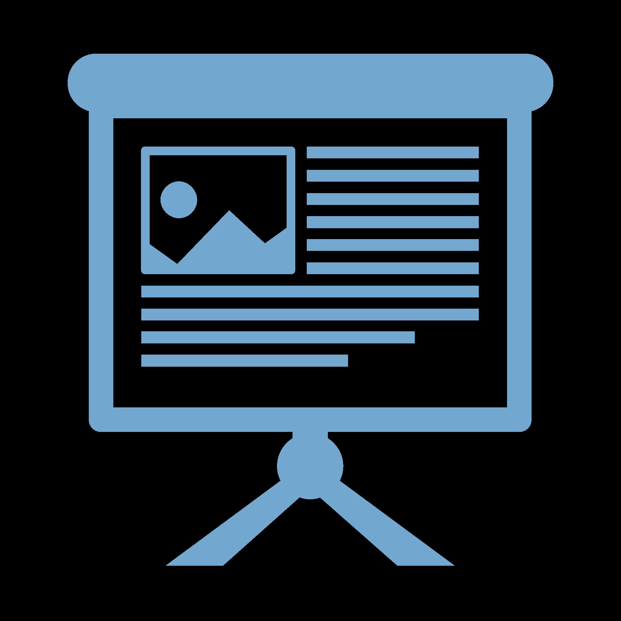 a Presentation icon