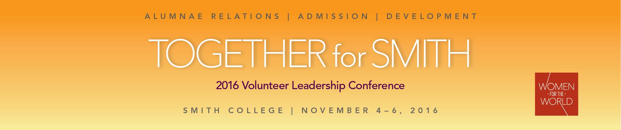 Volunteer Leadership Conference 2016