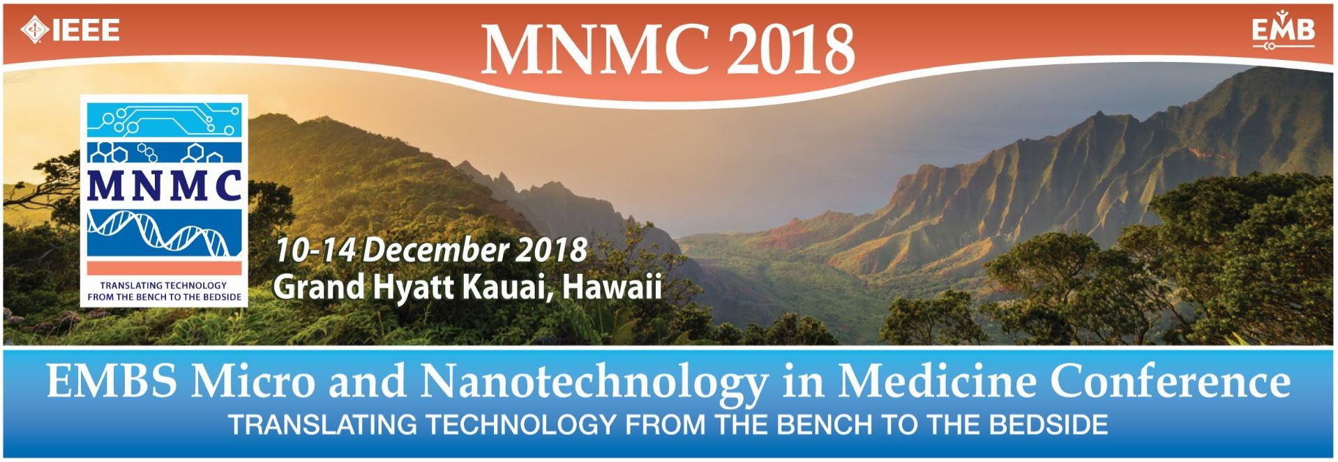 EMBS Micro and Nanotechnology in Medicine Conference 2018