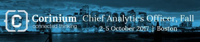 Chief Analytics Officer, Fall 2017
