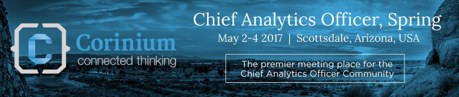 Chief Analytics Officer, Spring 2017