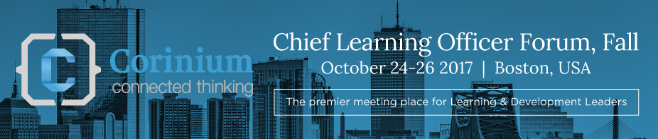 Chief Learning Officer Forum, Fall 2017