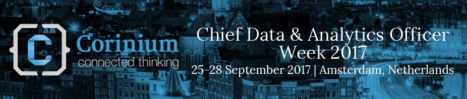 Chief Data & Analytics Officer Week 2017