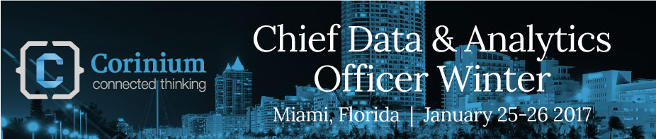 Chief Data and Analytics Officer, Winter 2017