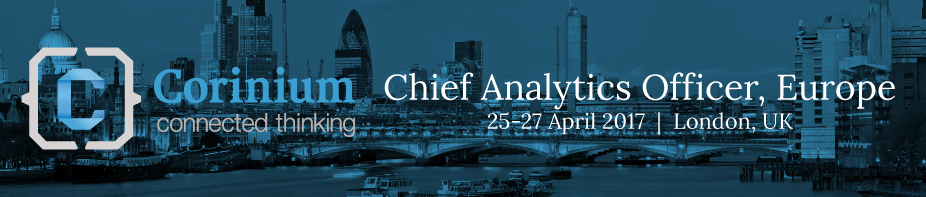 Chief Analytics Officer Europe 2017