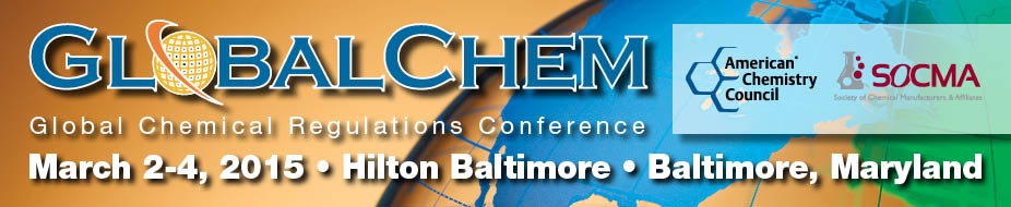 2015 GlobalChem Conference and Exhibition