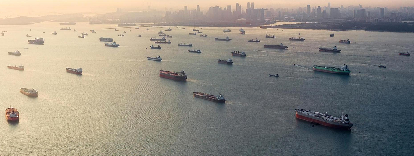 Singapore Cargo Ships