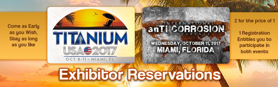 Miami TITANIUM USA 2017 Exhibition Space