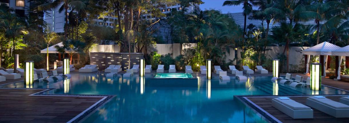 Pool View Grand Hyatt Singapore