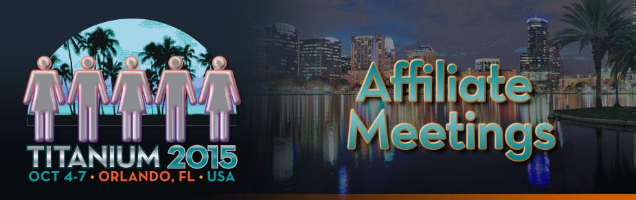 Orlando: TITANIUM USA 2015 Affiliate Meeting Rooms