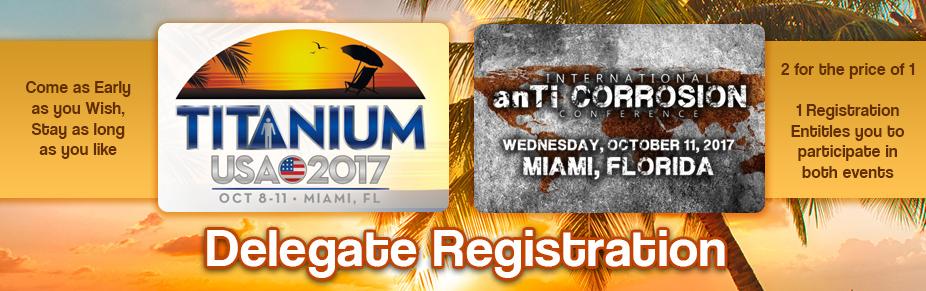Miami:  TITANIUM USA 2017 Delegate Registration