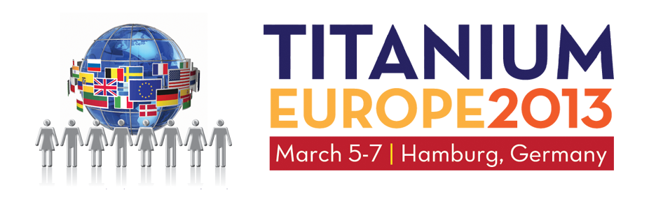TITANIUM EUROPE 2013 Registration