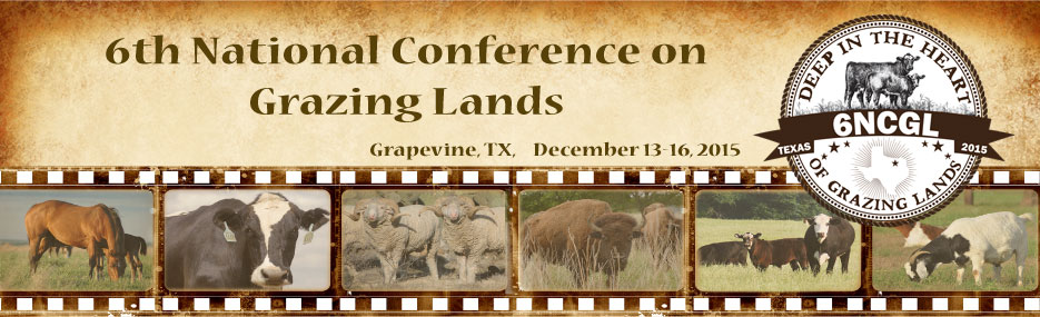 The 6th National Conference on Grazing Lands (6NCGL)