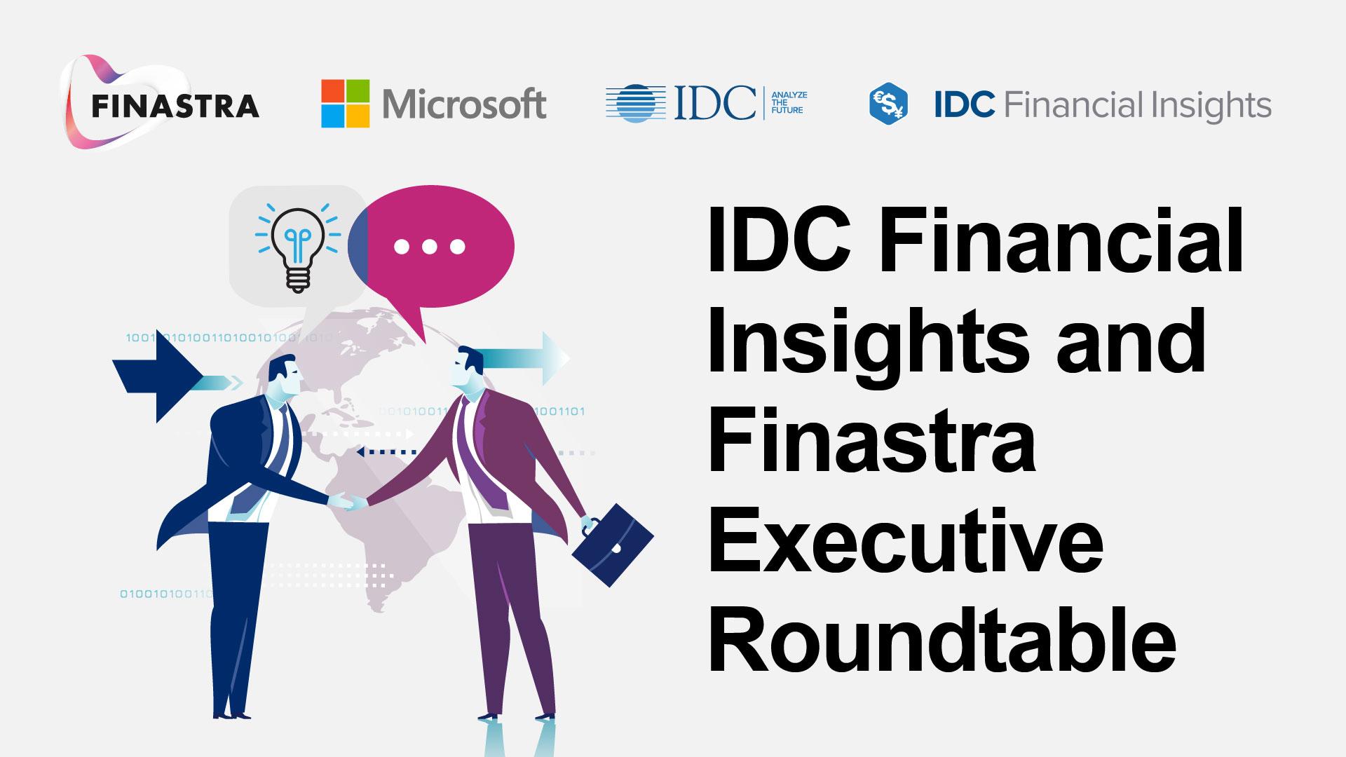 IDC & Finastra Executive Roundtable