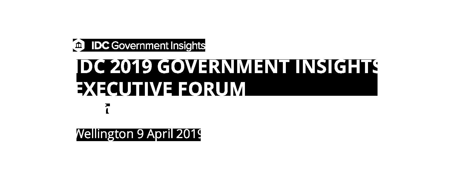 IDC 2019 Government Insights Executive Forum
