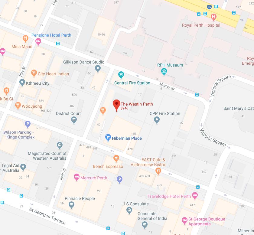 Map Westin