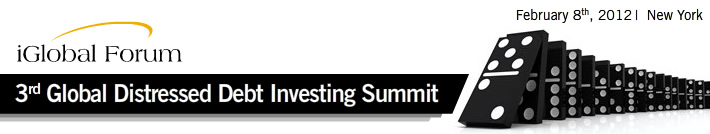 3rd Distressed Debt Investing Summit