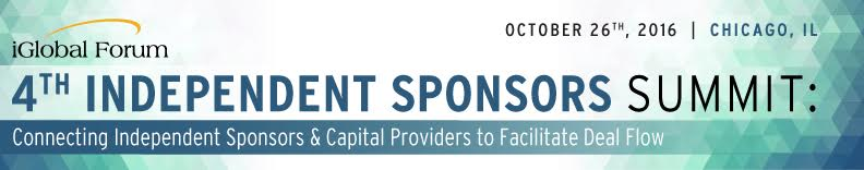 4th Independent Sponsors Summit