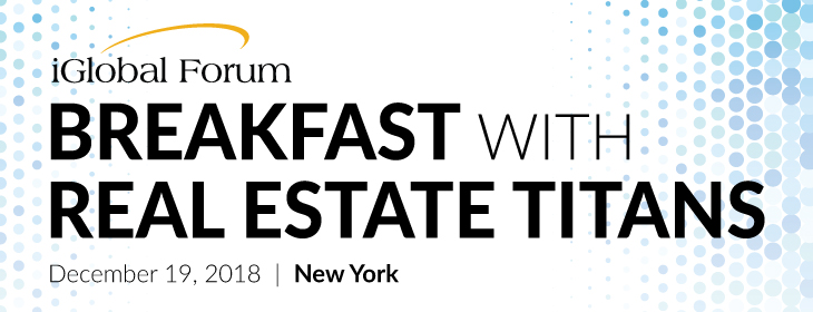 BREAKFAST WITH REAL ESTATE TITANS