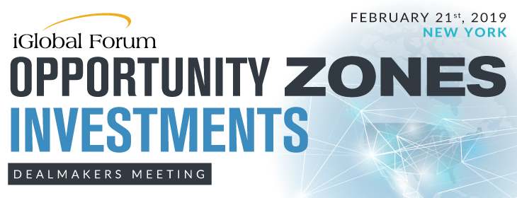Opportunity Zones Investments Dealmakers Meeting