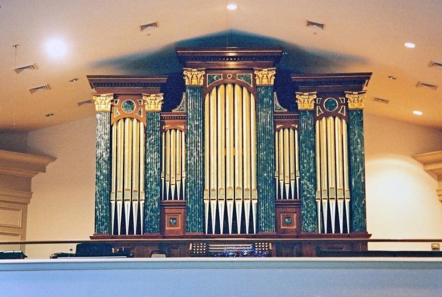 Web Organ Chambers Trinity Myrtle Beach Closeup