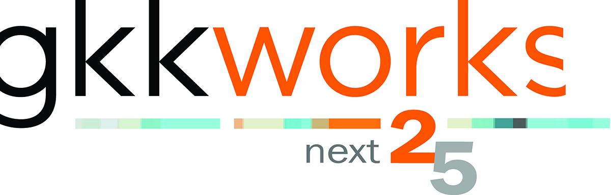 gkkworks_25th Anniversary Logo