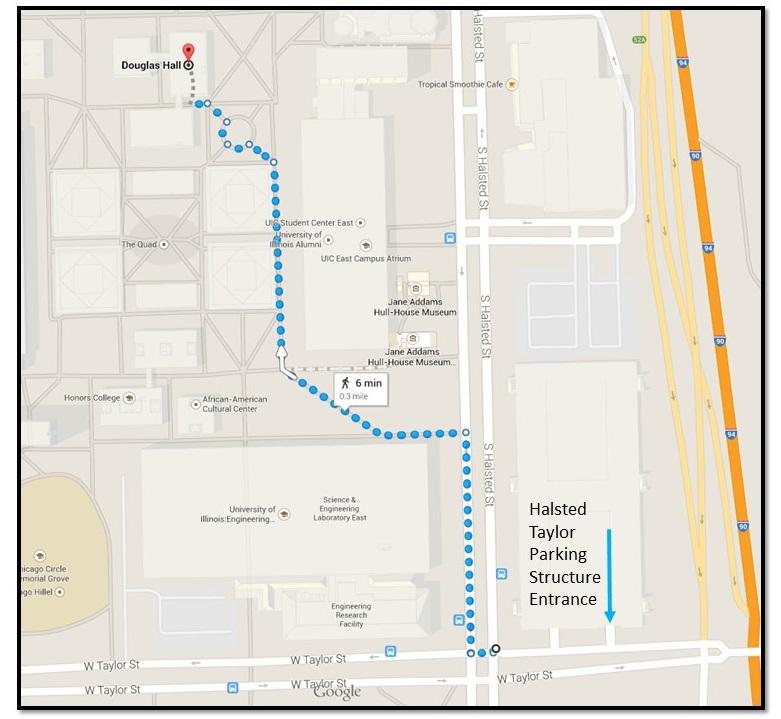2014 Douglas Hall map