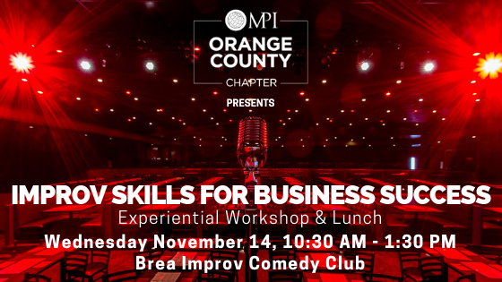 MPIOC November Educational Luncheon @ Brea Improv